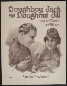 """Doughboy Jack & Doughnut Jill"" Sheet Music Cover"