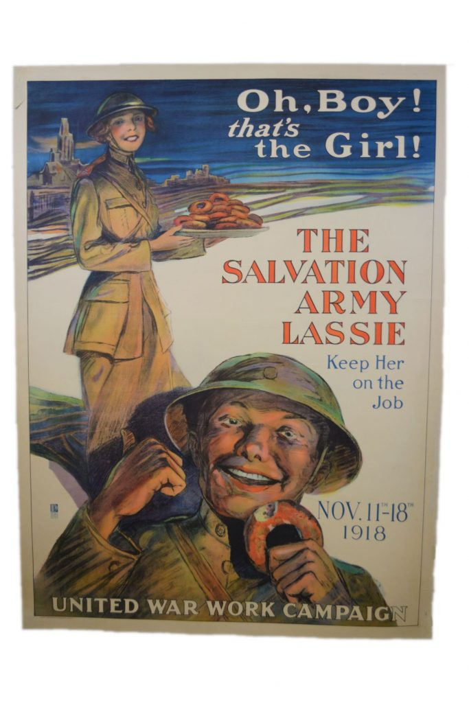 Salvation Army Fund Raising Poster from World War One